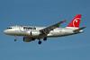 Northwest Airlines-NWA Airbus A319-114 N372NB (msn 2369) LAS (Bruce Drum). Image: 100312.