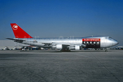 Northwest Cargo (Northwest Airlines) Boeing 747-251F N640US (msn 23888) LAX (Christian Volpati Collection). Image: 941589.