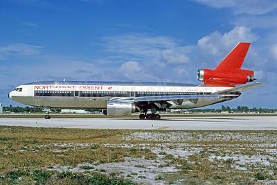 Northwest Orient Airlines McDonnell Douglas DC-10-40 N144US (msn 46753) FLL (Bruce Drum). Image: 103353.