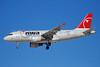 Northwest Airlines-NWA Airbus A319-114 N329NB (msn 1543) LAS (Bruce Drum). Image: 100126.