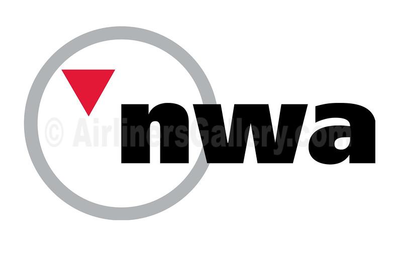 1. Northwest Airlines - NWA logo