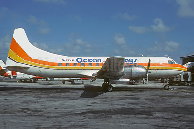 Ocean Airways Convair 440-68 N477KW (msn 210) (Air Sunshine colors) MIA (Christian Volpati Collection). Image: 945500.