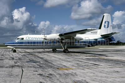 Oceanair (USA) Fairchild F-27 N4302F (msn 60) FMY (Eddy J. Gual - Bruce Drum Collection). Image: 947171.