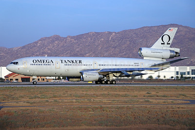 Omega Air (Omega Aerial Refueling Services-OARS) McDonnell Douglas DC-10-40 N974VV (msn 46974) RIV (Michael B. Ing). Image: 951695.