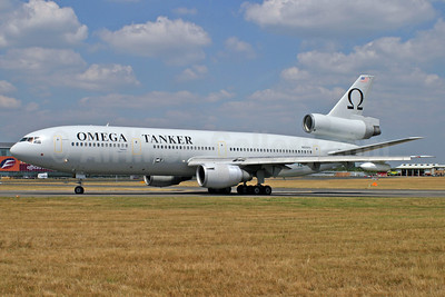 Omega Air (Omega Aerial Refueling Services-OARS) McDonnell Douglas DC-10-40 N974VV (msn 46974) FAB (Antony J. Best). Image: 906500.