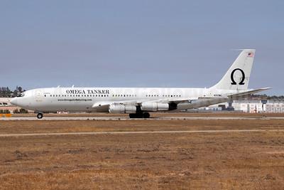 Omega Air (Omega Aerial Refueling Services-OARS) Boeing 707-368C N707MQ (msn 21368) RIV (Michael B. Ing). Image: 954861.