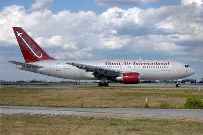 Omni Air International-OAI Boeing 767-224 ER N225AX (msn 30434) YYZ (TMK Photography). Image: 908883.
