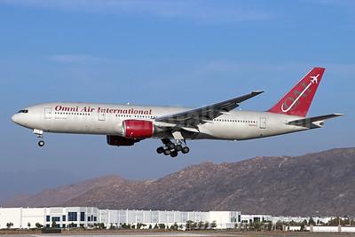 Omni Air International-OAI Boeing 777-2U8 ER N828AX (msn 33682) RIV (Michael B. Ing). Image: 951693.