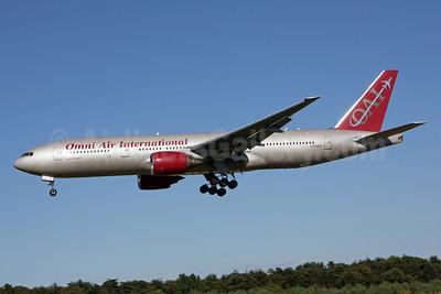 Omni Air International-OAI Boeing 777-222 ER N918AX (msn 26935) BWI (Brian McDonough). Image: 920604.