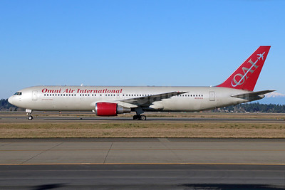 Omni Air International-OAI Boeing 767-33A ER N351AX (msn 27908) SEA (Michael B. Ing). Image: 933159.