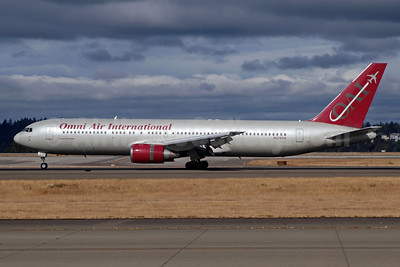 Omni Air International-OAI Boeing 767-33A ER N378AX (msn 28147) SEA (Michael B. Ing). Image: 948016.