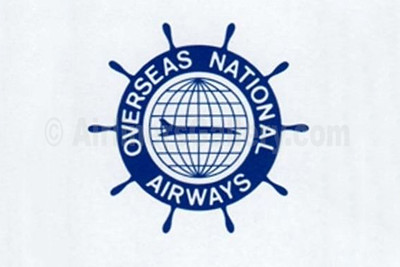 1. Overseas National Airways (1st) logo