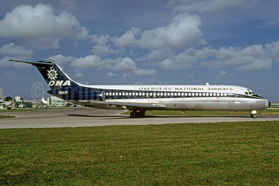 Overseas National Airways-ONA (1st) McDonnell Douglas DC-9-33CF N937F (msn 47409) MIA (Bruce Drum). Image: 103181.
