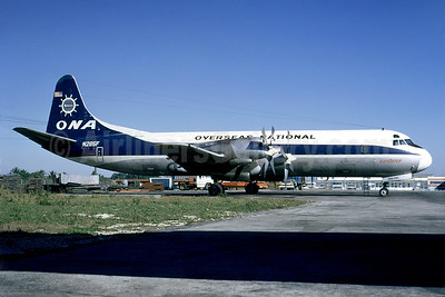 Overseas National Airways-ONA (1st) Lockheed 188A (F) Electra N285F (msn 1107) MIA (Fernandez Imaging Collection). Image: 930348.