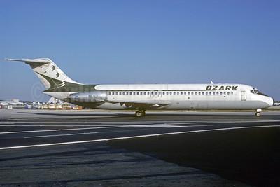 Ozark Airlines (1st) McDonnell Douglas DC-9-31 N976Z (msn 47248) MIA (Bruce Drum). Image: 102238.