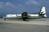 Ozark Airlines (1st) Fairchild Hiller FH-227B N4231 (msn 553) SPI (Bruce Drum). Image: 102241.