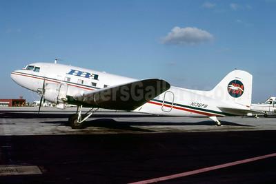 PBA (Provincetown-Boston Airline) Douglas DC-3A N136PB (msn 1997) MIA (Bruce Drum). Image: 103976.