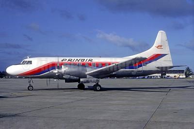 PRINAIR Convair 580 N900WC (msn 110) SJU C9hristian Volpati Collection). Image: 936713.