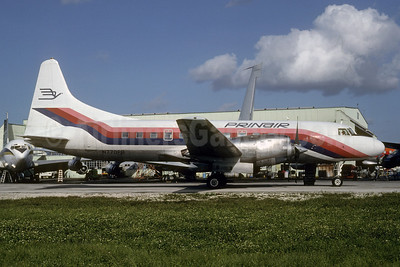 PRINAIR Convair 580 N770PR (msn 56) MIA (Bruce Drum). Image: 103407.