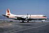 PSA-Pacific Southwest Airlines Lockheed 188C Electra N171PS (msn 1091) (Super Electra Jet) SFO (Fred Marston - Bruce Drum Collection). Image: 100962.