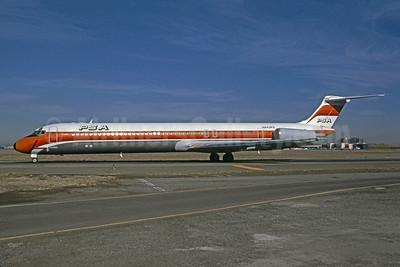 PSA (Pacific Southwest Airlines) McDonnell Douglas DC-9-82 (MD-82) N943PS (msn 48098) (Bruce Drum Collection). Image: 945184.