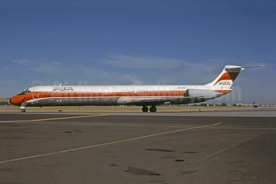 PSA (Pacific Southwest Airlines) McDonnell Douglas DC-9-81 (MD-81) N934PS (msn 48042) SJC (Bruce Drum). Image: 100980.