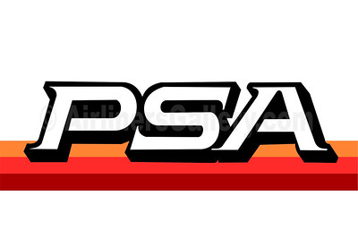1. PSA - Pacific Southwest Airlines (1st) logo