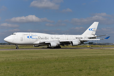 Pacific Air Cargo - Kalitta Air (2nd) Boeing 747-4B5 (F) N976BA (msn 25275) AMS (Ton Jochems). Image: 942525.