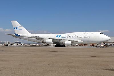 Pacific Air Cargo - Kalitta Air (2nd) Boeing 747-412 (F) N703CK (msn 24226) LAX (Michael B. Ing). Image: 943858.