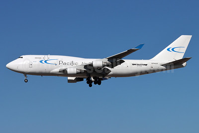 Pacific Air Cargo - Kalitta Air (2nd) Boeing 747-412 (F) N703CK (msn 24226) LAX (Michael B. Ing). Image: 952292.