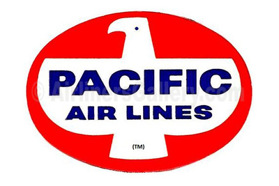 1. Pacific Air Lines (USA) logo
