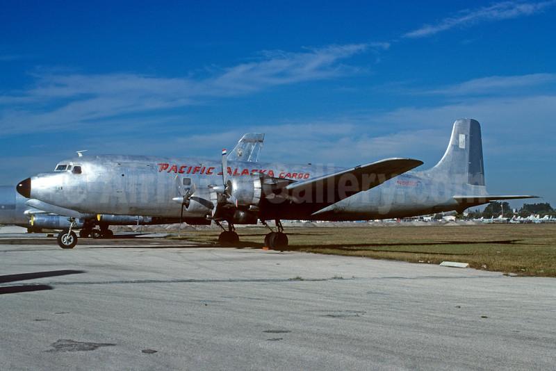 Pacific Alaska Airlines Cargo Douglas C-118A-DO (DC-6A) N888DG (msn 44675) MIA (Bruce Drum). Image: 103302.