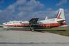 Pacific Alaska Airlines Fairchiled F-27 N777DG (msn 13) MIA (Bruce Drum). Image: 103303.