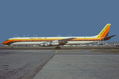 Pacific East Air McDonnell Douglas DC-8-61CF N867FT (msn 45939) LAX (Christian Volpati Collection). Image: 911175.