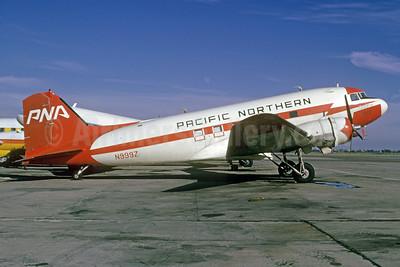 Pacific Northern Airlines-PNA (2nd) Douglas C-53C (DC-3A) N999Z (msn 4976) OAK (Bruce Drum). Image: 103301.