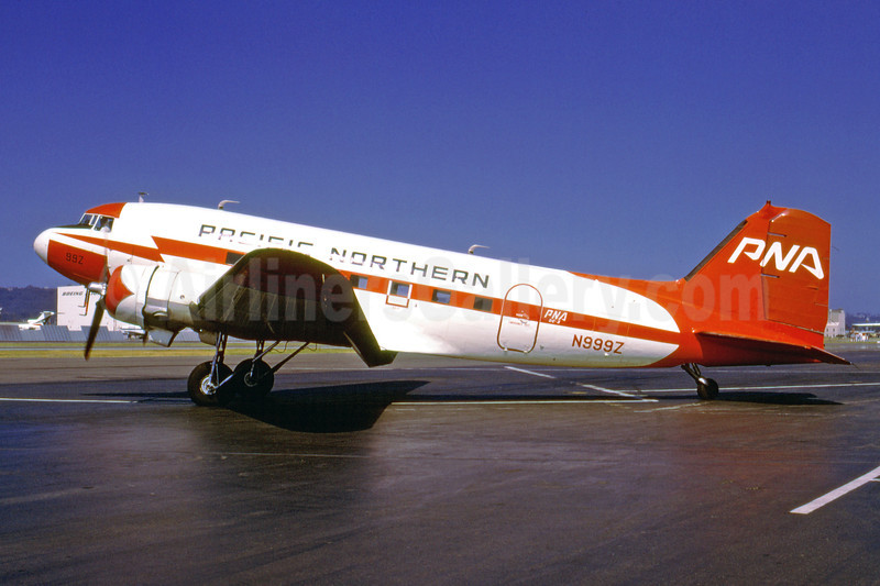 Pacific Northern Airlines-PNA (2nd) Douglas C-53C (DC-3A) N999Z (msn 4976) BFI (Bruce Drum). Image: 103300.