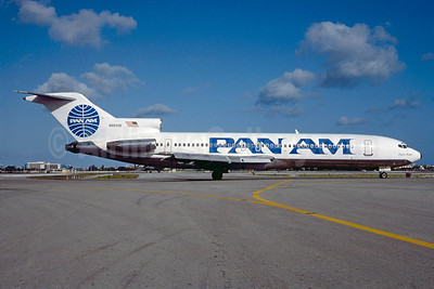 Pan Am (1st) Boeing 727-225 N8839E (msn 20382) MIA (Bruce Drum). Image: 102935.