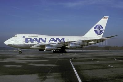 Pan Am (1st) Boeing 747SP-21 N533PA (msn 21025) (Flight 50) ZRH (Rolf Wallner). Image: 944578.