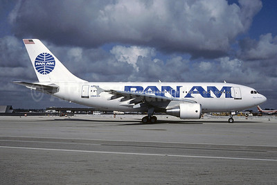 Pan Am (1st) Airbus A310-324 N812PA (msn 442) MIA (Bruce Drum). Image: 102953.