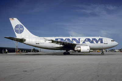 Pan Am (1st) Airbus A310-324 N818PA (msn 455) MIA (Bruce Drum). Image: 102954.
