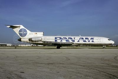 Pan Am (1st) Boeing 727-235 N4734 (msn 19454) MIA (Bruce Drum). Image: 102937.
