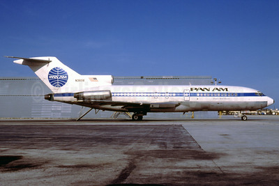 Pan Am (1st) Boeing 727-51 N3606 (msn 18943) MIA (Bruce Drum). Image: 102036.