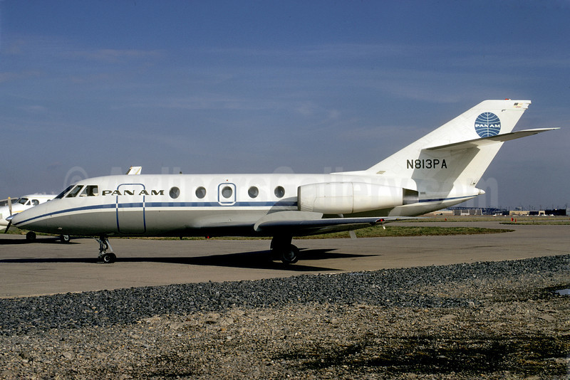 Pan Am (1st) Dassault Falcon 20 N813PA PHL (Bruce Drum). Image: 102107.