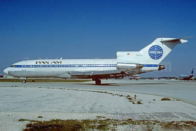 Pan Am (1st) Boeing 727-35 N4616 (msn 18817) MIA (Bruce Drum). Image: 102933.