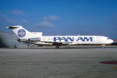 Pan Am (1st) Boeing 727-227 N564PE (msn 21118) MIA (Bruce Drum). Image: 102936.