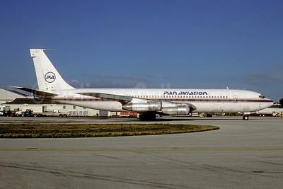 Pan Aviation Boeing 707-355C N723GS (msn 19986) MIA (Bruce Drum). Image: 104888.