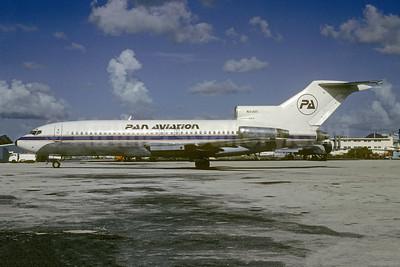 Pan Aviation Boeing 727-44 N93GS (msn 18893) MIA (Bruce Drum). Image: 104889.