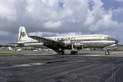 Paradise 1000 Travel Club Douglas DC-6B N6103C (msn 44103) FLL (Bruce Drum). Image: 105318.