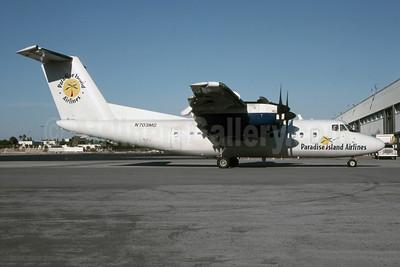 Paradise Island Airlines de Havilland Canada DHC-7-102 Dash 7 N703MG (msn 103) MIA (Bruce Drum). Image: 105600.