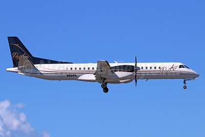 PenAir (Peninsula Airways) SAAB 2000 N681PA (msn 027) ANC (Michael B. Ing). Image: 938176.